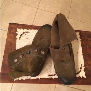 Vintage Leather Booties